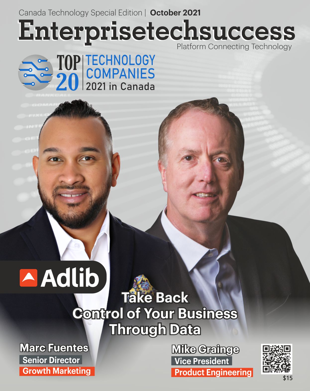 Top 20 Technology Companies 2021 in Canada