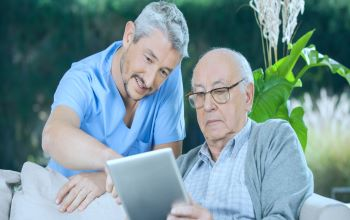 How to develop an IT solution that saves management effort for a caregiving the company